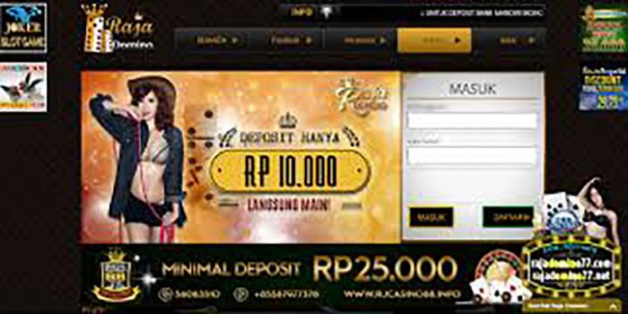 RAJADOMINO Situs Judi Pkv Online Terbaik Di Indonesia