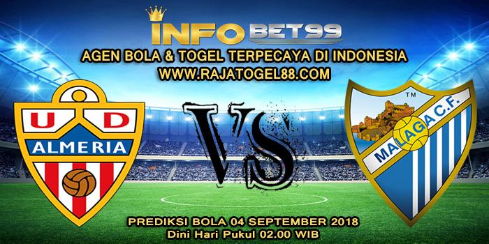 Prediksi Bola Almeria vs Malaga 04 September 2018 Dini Hari