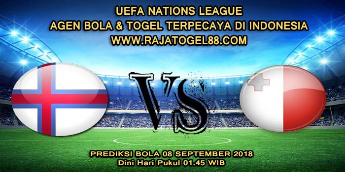 Prediksi Bola Faroe Islands vs Malta 08 September 2018 Dini Hari