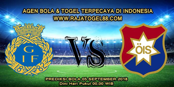 Prediksi Bola Gefle vs Orgryte 05 September 2018 Dini Hari
