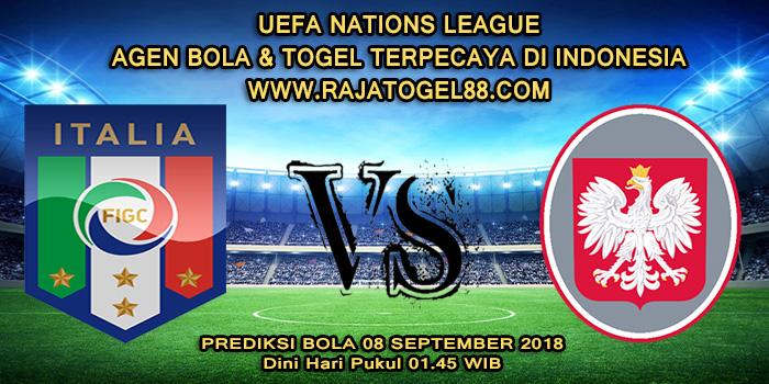 Prediksi Bola Italia vs Polandia 08 September 2018 Dini Hari