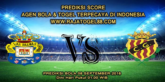 Prediksi Bola Las Palmas vs Gimnastic Tarragona 08 September 2018 Dini Hari