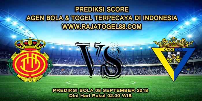 Prediksi Bola Mallorca vs Cadiz 08 September 2018 Dini Hari