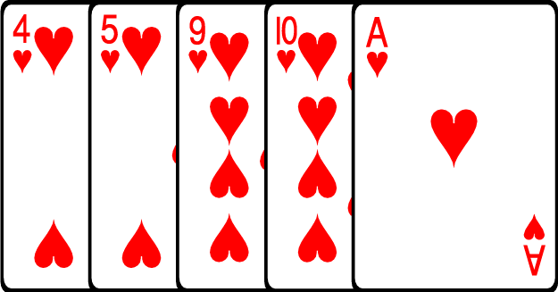 5 Urutan Kartu Terendah Dalam Permainan Poker Online