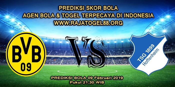 Prediksi Skor Bola Borussia Dortmund Vs Hoffenheim 09 Februari 2019