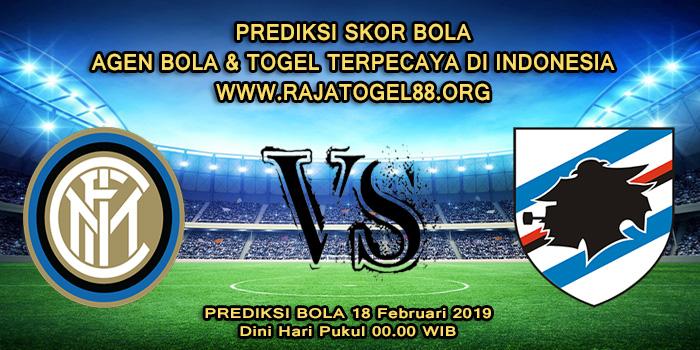 Prediksi Skor Bola Inter Milan vs Sampdoria 18 Februari 2019