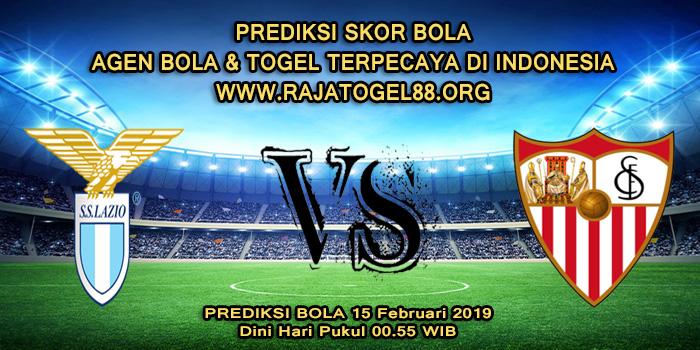 Prediksi Skor Bola Lazio vs Sevilla 15 Februari 2019